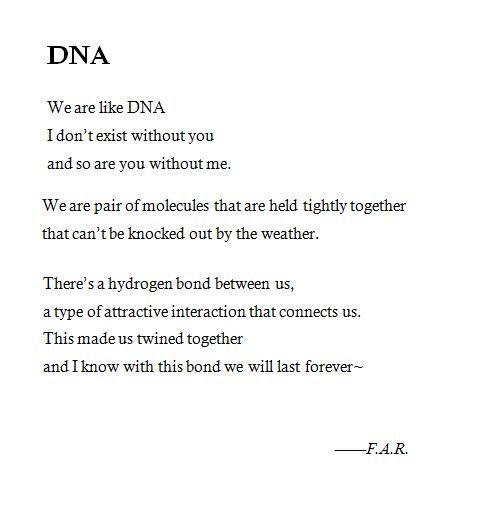 :) My very own poem :)