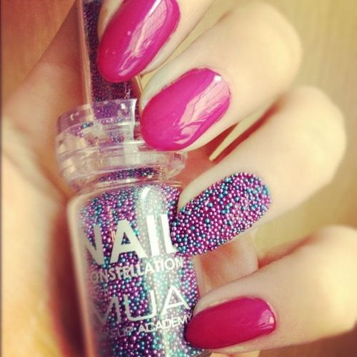 It's like a nonperiel for your nails....37 Cute Nail Art Designs
