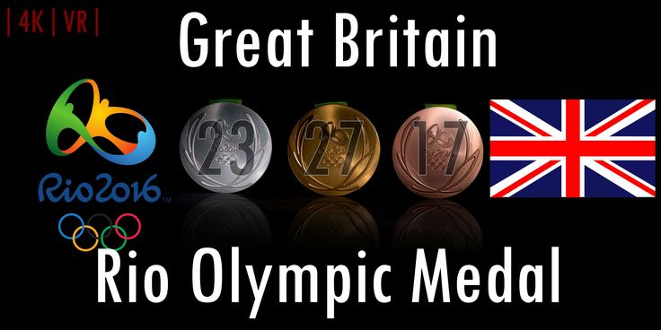 VR Sports | Rio Olympic Medal - Great Britain