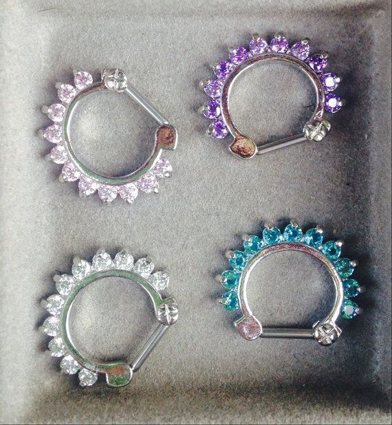 Adorable and Fairly priced septum jewelry.