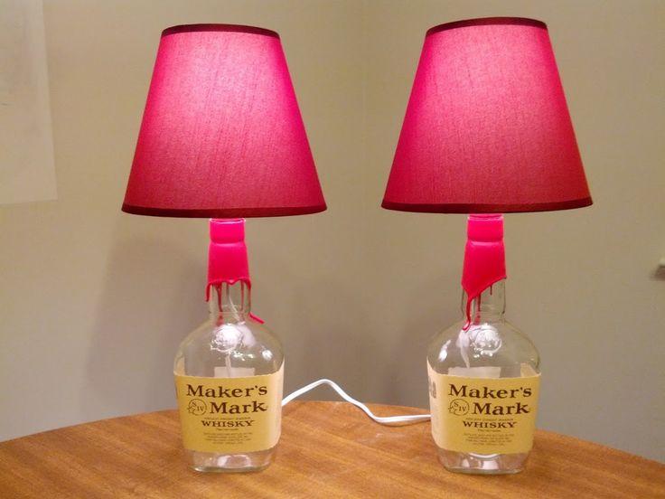 Lampade da tavolo dal riciclo di bottiglie http://www.differentdesign.it/lampade-da-tavolo-dal-riciclo-di-bottiglie/ Lampade da tavolo #faidate, per #arredare la casa con originalità e risparmio!
