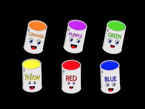 Primary Colors Song for Kids/Secondary Colors Song for Kids - YouTube