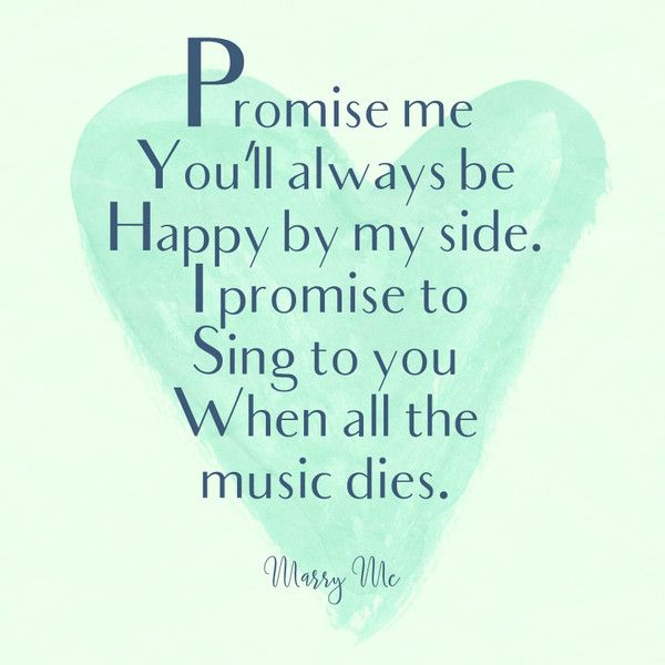 Marry Me, Train - Romantic Song Lyrics We'll Always Love - Photos