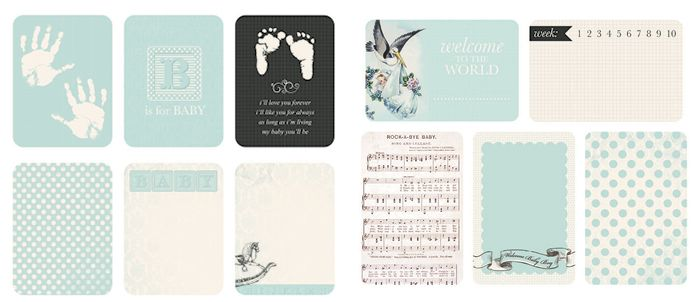 Rock a bye baby boy Captured Moments cards | CM313 & CM113