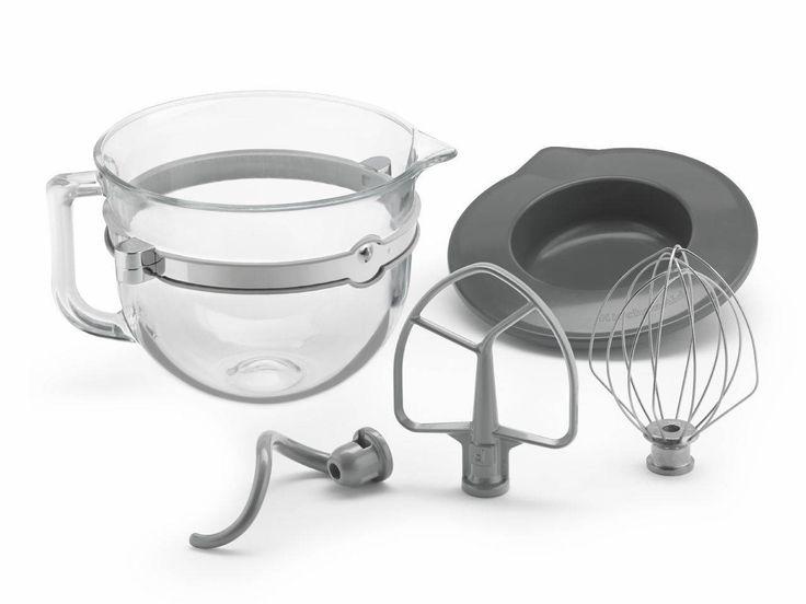Kitchenaid 6qt glass bowl kit for bowllift stand mixers