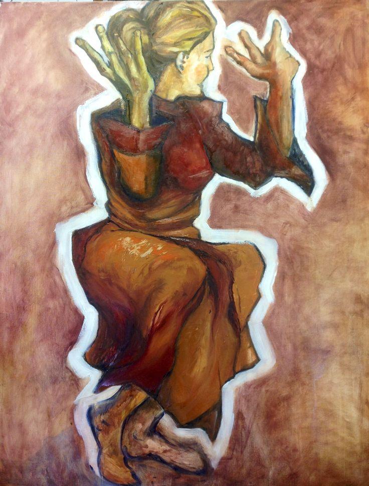 Pauline Hugo - Oil on Canvas