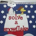 Solve A Snowflake Math Bulletin Board Idea
