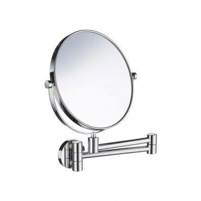 Smedbo Outline Kosmetikspiegel 2x fach schwenkbar; FK438
