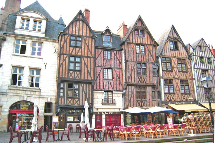 Tours, France, my home for the summer