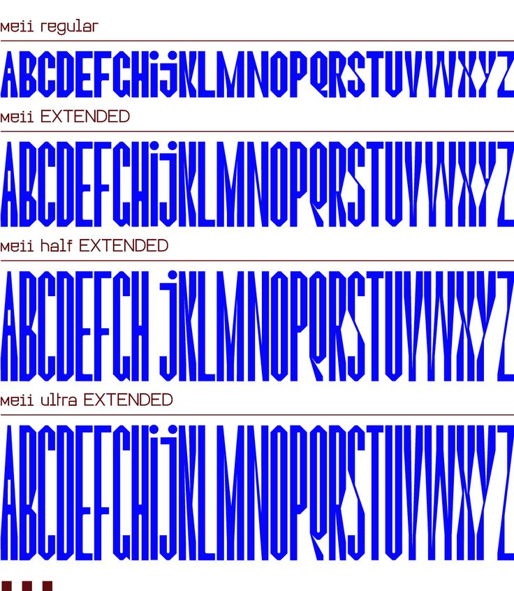 """Meii"" typeface/typographie for Electro Alternativ festival by Stereo Buro (France, Paris)"