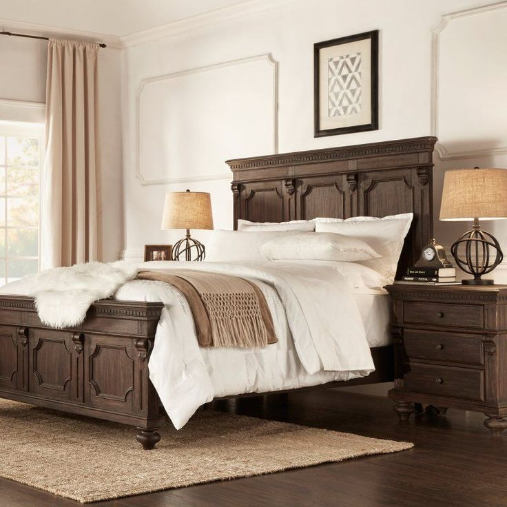 Homelegance Carterton Mansion Panel Bed