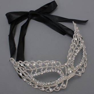 Rhinestone Crystal Masquerade Mask-  @Lauren Whalley I totally bought one of these, it was a must have and I know you will understand this lol