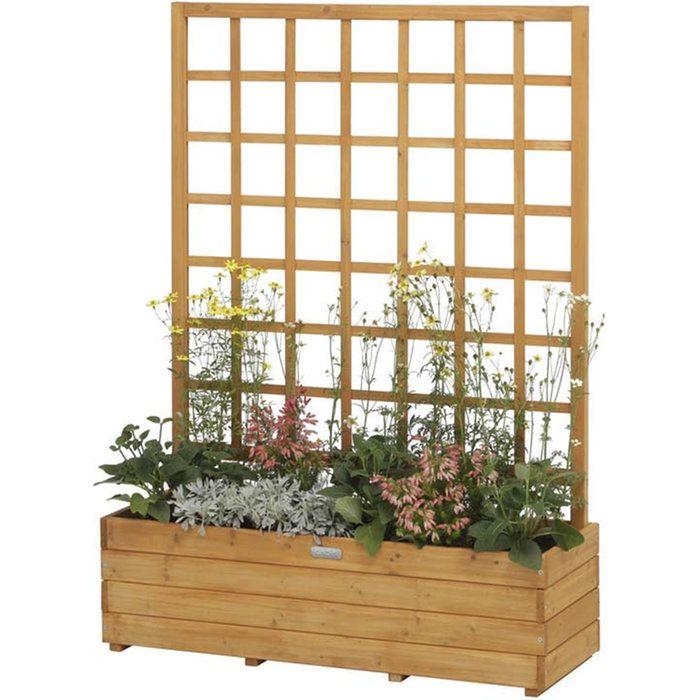 ウッドデコプランター900wop S90送料無料木製プランターおしゃれ菜園
