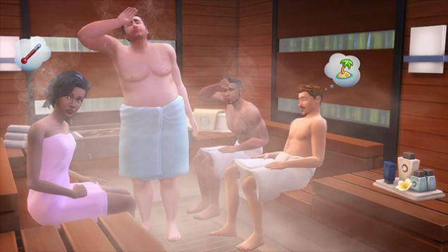 Annunciato il Game Pack Un Giorno alla Spa di The Sims 4