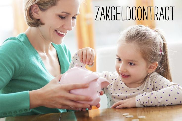 Zakgeld leert je kind omgaan met geld. Hoeveel krijgt het? Wanneer? En wat moet je kind ermee betalen en wat niet? Zet het in dit zakgeldcontract.