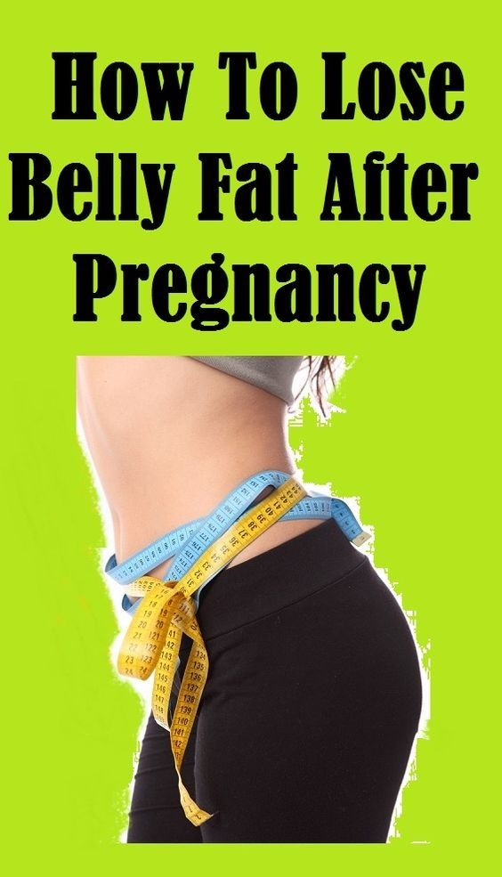 how to lose pregnancy belly fat
