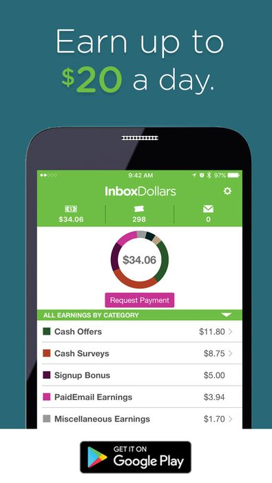 Earn cash for answering short survey questions right from your phone! Download the InboxDollars app for android free today and receive $5 bonus when you take your first 5 minute survey