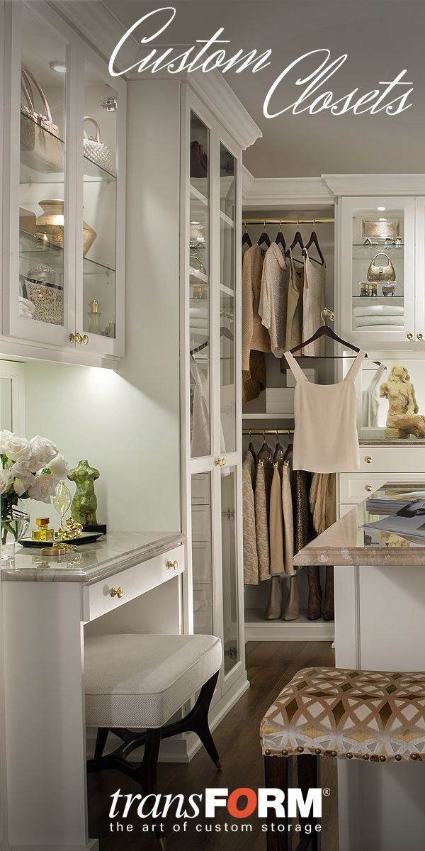 25 best ideas about custom closets on pinterest master Design your own bedroom closet