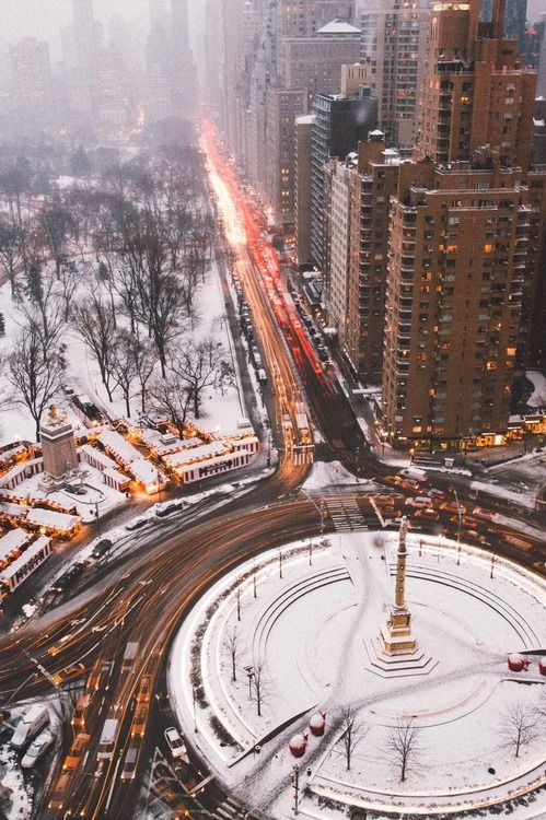 Columbus circle NYC || Amara • Life • Style • Living • ||