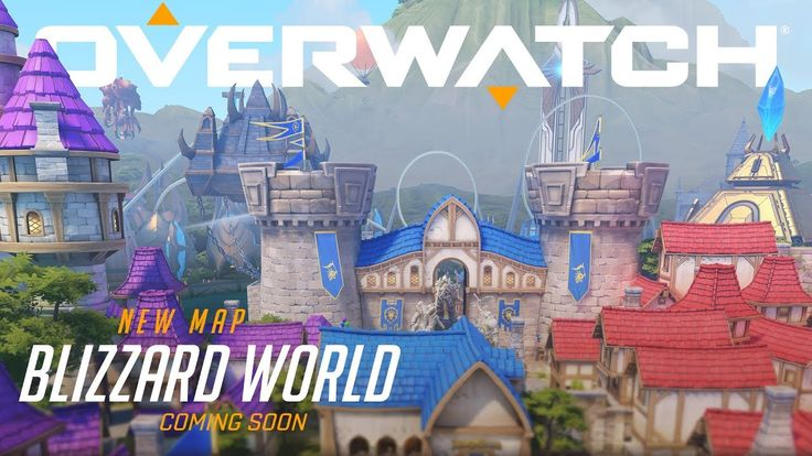 Overwatch PTR update : Blizzard World map and bug fixes!