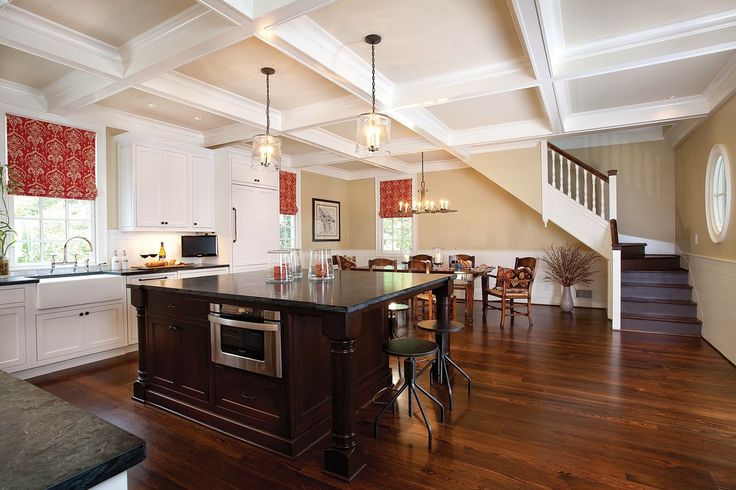 Floor Antique Heart Pine With Jacobean Stain. flooring for basement. rubber flooring for basement. best flooring for basement. cork flooring for basement.