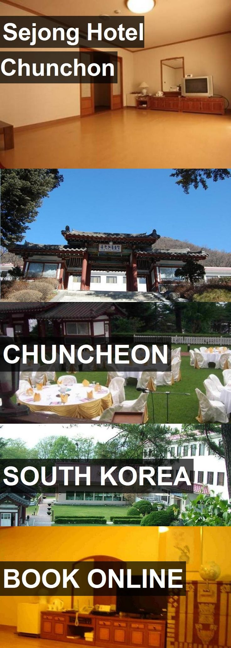 Sejong Hotel Chunchon in Chuncheon, South Korea. For more information, photos, reviews and best prices please follow the link. #SouthKorea #Chuncheon #travel #vacation #hotel