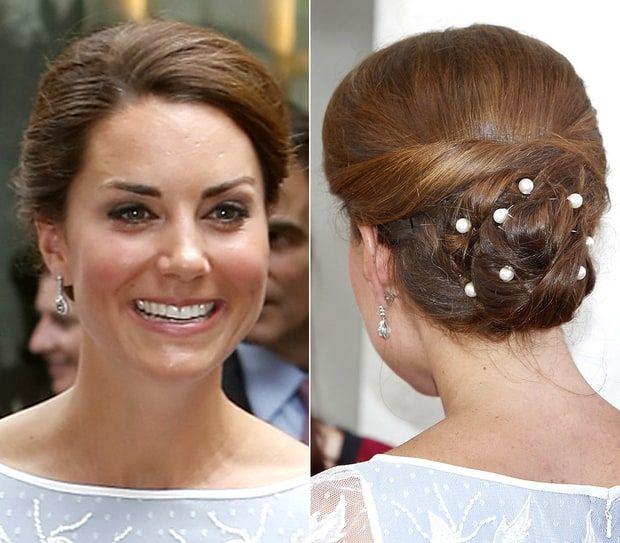 Wedding Hairstyle Kate Middleton : 104 best kate middleton hairstyles images on pinterest