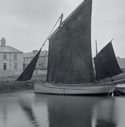 Valentia fishing boat in the 1890s