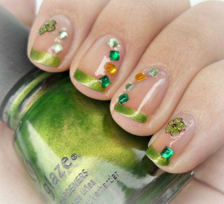 Malý koutek krásy: Den Sv. Patrika nail art :-)