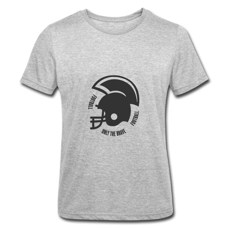 40B Only the Brave Roundneck T-Shirt by 40 Burger // Finest Football & Fashion. #americanfootball #football #40b #nfl #rannfl #t-shirt #tshirt #roundneck #brave #streetwear