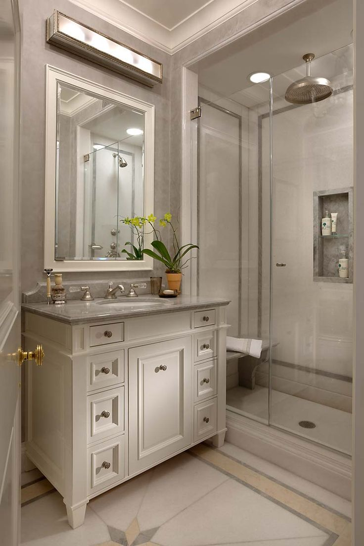 Elegant bathroom designs - John B Murray Architect I Like The Shower Seat And The Outline In