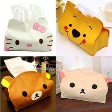 Hello Kitty Rilakkuma Winnie The Pooh Tissue Box / Tempat Tisu / Holder / Cover