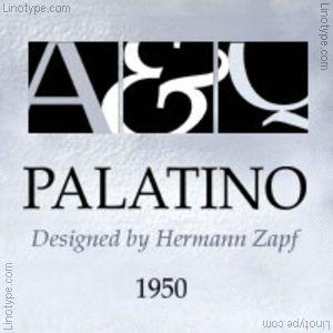 Palatino® Familia tipográfica | Linotype.com