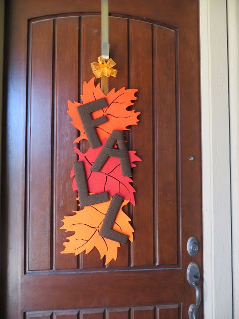Find This Pin And More On Fall By Walker741. Fall Door Decorations ...