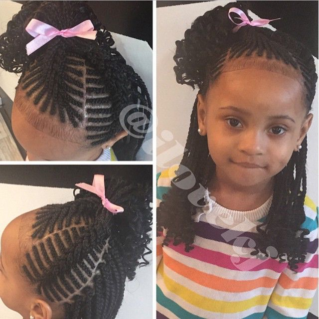 Braided Hairstyles For Little Girls 246 Best Children Hair Styles Images On Pinterest  African