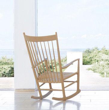 Hans Wegner J16 Rocker - midcentury - Rocking Chairs And Gliders - Huset