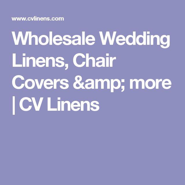 Wholesale Wedding Linens, Chair Covers & more | CV Linens