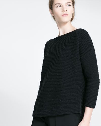 Image 3 of OVERSIZE SWEATER from Zara