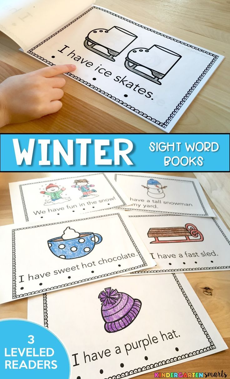 These Differentiated Winter Sight Word Books Are Great For Guided Reading Groups Winter Kindergarten Activities Winter Classroom Activities Winter Kindergarten Guided reading activities for winter