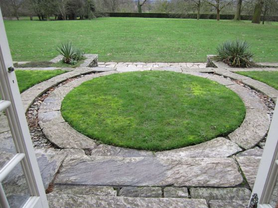 squaring the circle design detail at hestercombe garden designers bristol bath and beyond