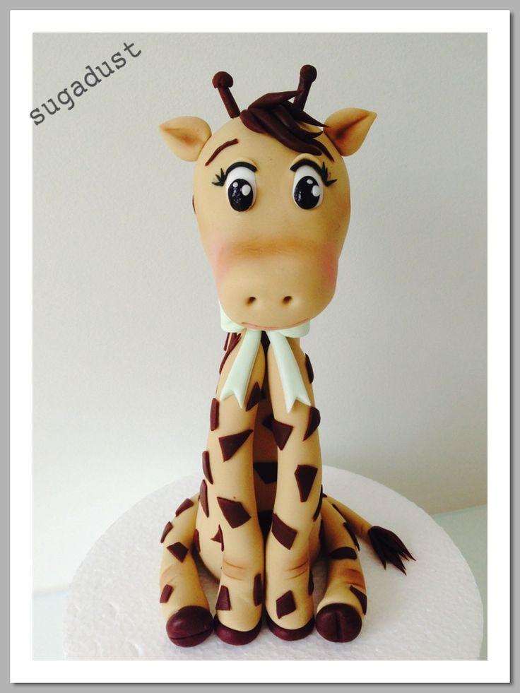 Baby Giraffe Cake topper