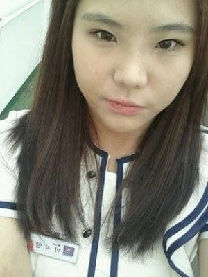 This Park Jim-young a 22 year old cafeteria worker who drowned on the Sewol Korea ferry while helping trapped passengers to escape the sinking vessel.  The captain and many other crew members escaped leaving over 250 high school students to drown.  May she rest in peace.
