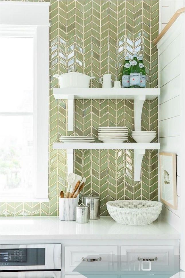 May 3 2017 This Chic Trend Is All About That V Homedecorblog Homedecorindonesia Homedecorblogge Trendy Kitchen Backsplash Kitchen Interior Tile Trends