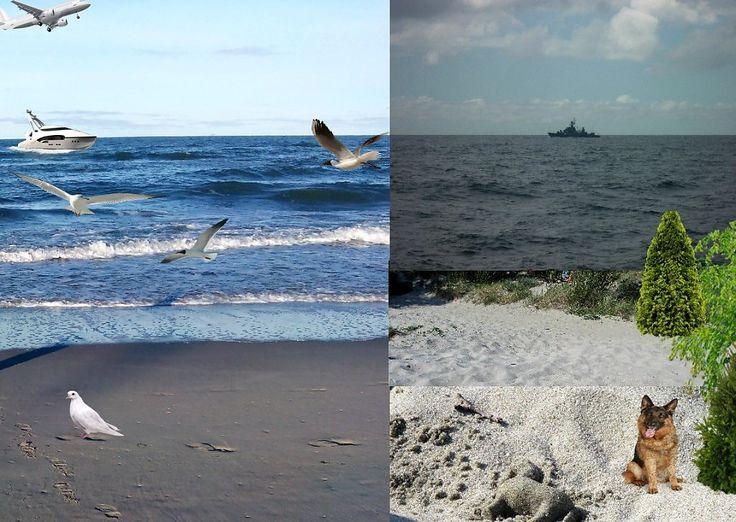 Морская волна легкой зыбью легла... - Фотография - Фотошоп,компьютерная графика.