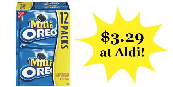 Aldi: Nabisco Cookies or Crackers Multi-Pack Only $3.29!