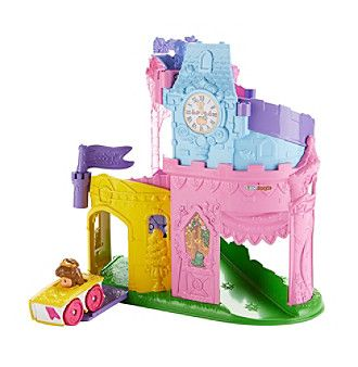 Fisher-Price Disney Princess Light and Twist Wheelies Tower