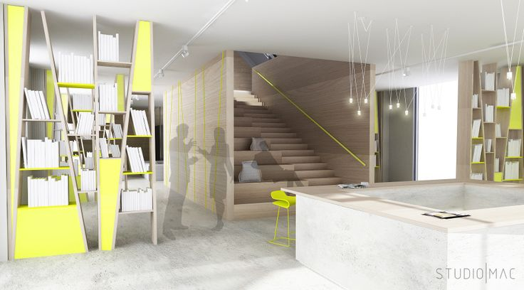Conceptual design of the students Bookhouse