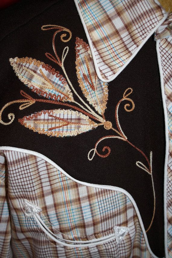 H Bar C Rockabilly Pearl Snap Front Western Shirt by TangoPony, $50.00
