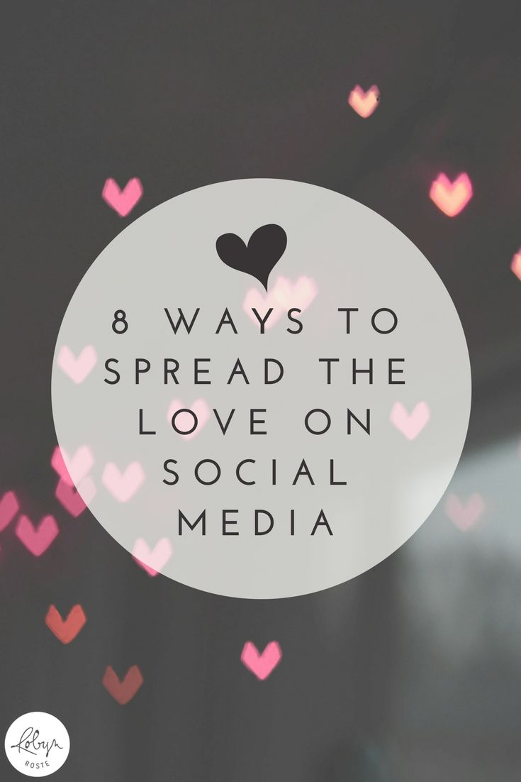 This year, I'm resolving to do less of the mindless scroll and more of the adding goodness to the social landscape. Care to join me? Here are eight ideas for spreading the love on social media. They're not invasive, they're not difficult, and they're not rocket science. But sometimes they're tough to remember.