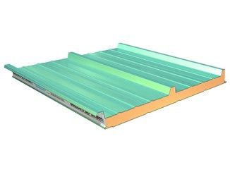 Panel metálico aislante para cubierta TERMOCOPERTURE® RP/ST 3G